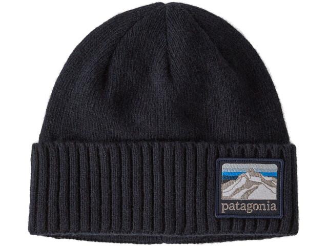 Patagonia Brodeo Muts met klep, line logo ridge/classic navy